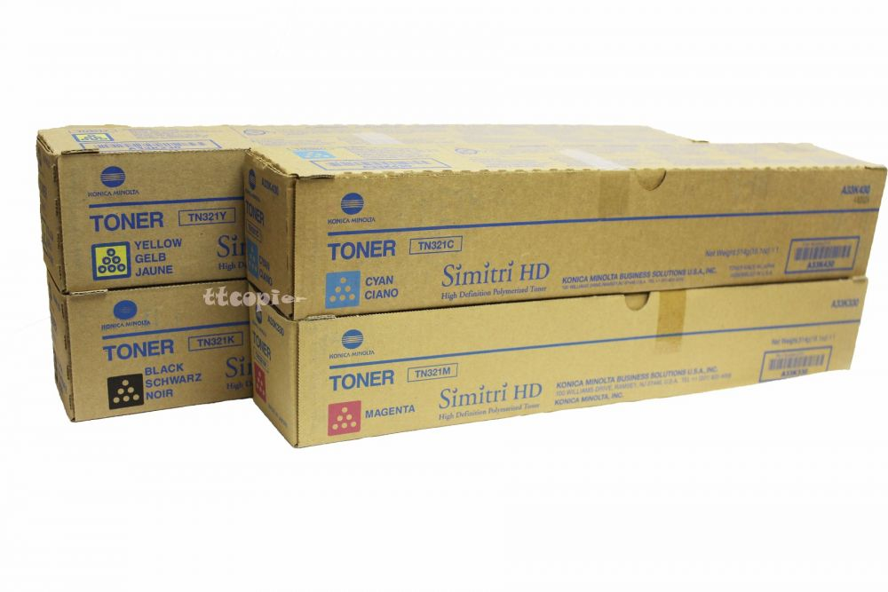 Works with: BizHub C224 On-Site Laser Compatible Toner Replacement for Konica-Minolta TN321M C284 Magenta C364