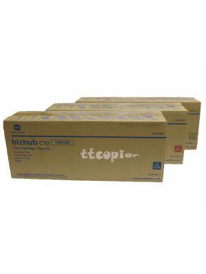 Konica Minolta TN212 CMY Combo Set A00W162 A00W262 A00W162 Yellow//Magenta//Cyan